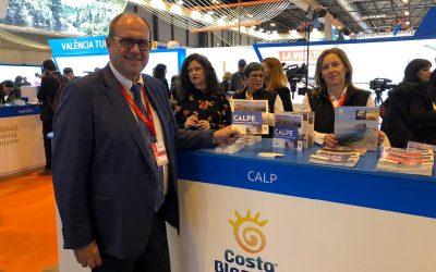 Calp participa en un atípico FITUR 2021 para promocionarse