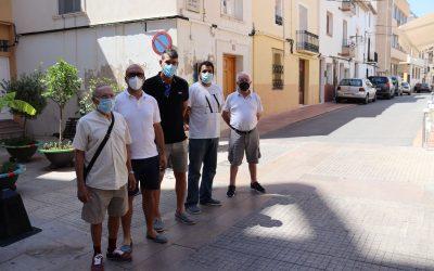 El carrer García Ortiz será el escenario de la final de Pilota Valenciana