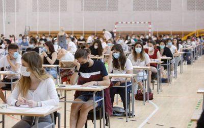 Los alumnos del IES Ifach empiezan hoy la Selectividad 2021